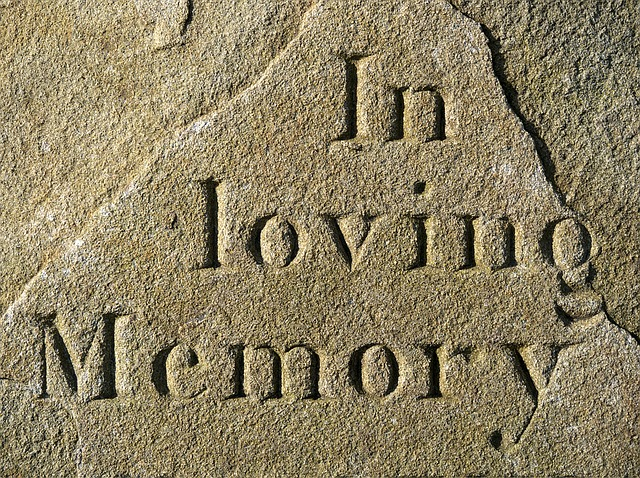 In Loving Memory : Stone Carving : Where There's A Will Southport